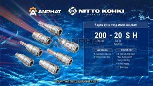 Những thuật ngữ thông dụng khi chọn mua đầu nối nhanh Nitto Kohki