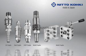 Tổng quan về các loại đầu nối nhanh Nitto Kohki