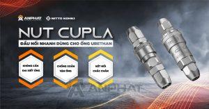 Nut Cupla – Đầu nối nhanh dùng cho ống Urethane